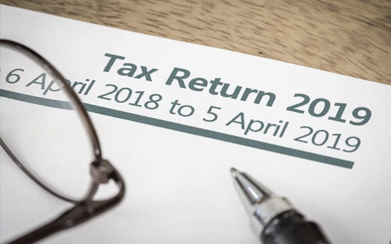 an example of a HMRC self assessment tax return, a form which we can help you submit