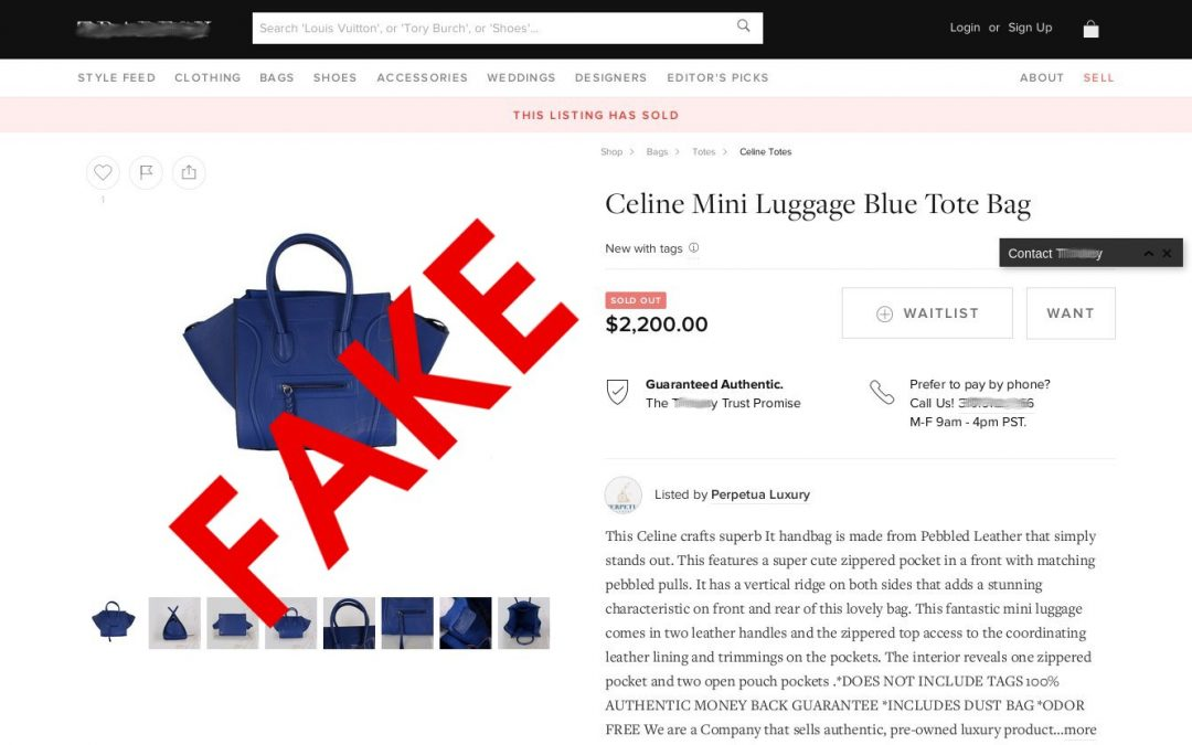 E-Commerce: Websites Selling Counterfeit Goods Appear in 60% of Search Results