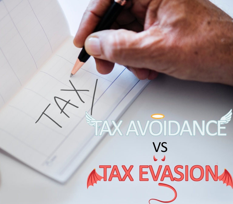 Tax Avoidance V Tax Evasion – What's the difference?