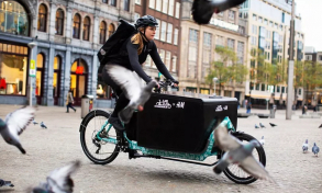Logistics: H&M launches bicycle delivery service in the Netherlands