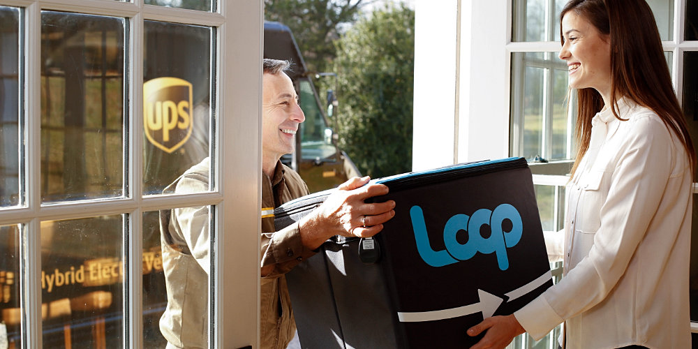 Sustainability: Eco-friendly Online Grocery Service Loop is coming to the UK in March