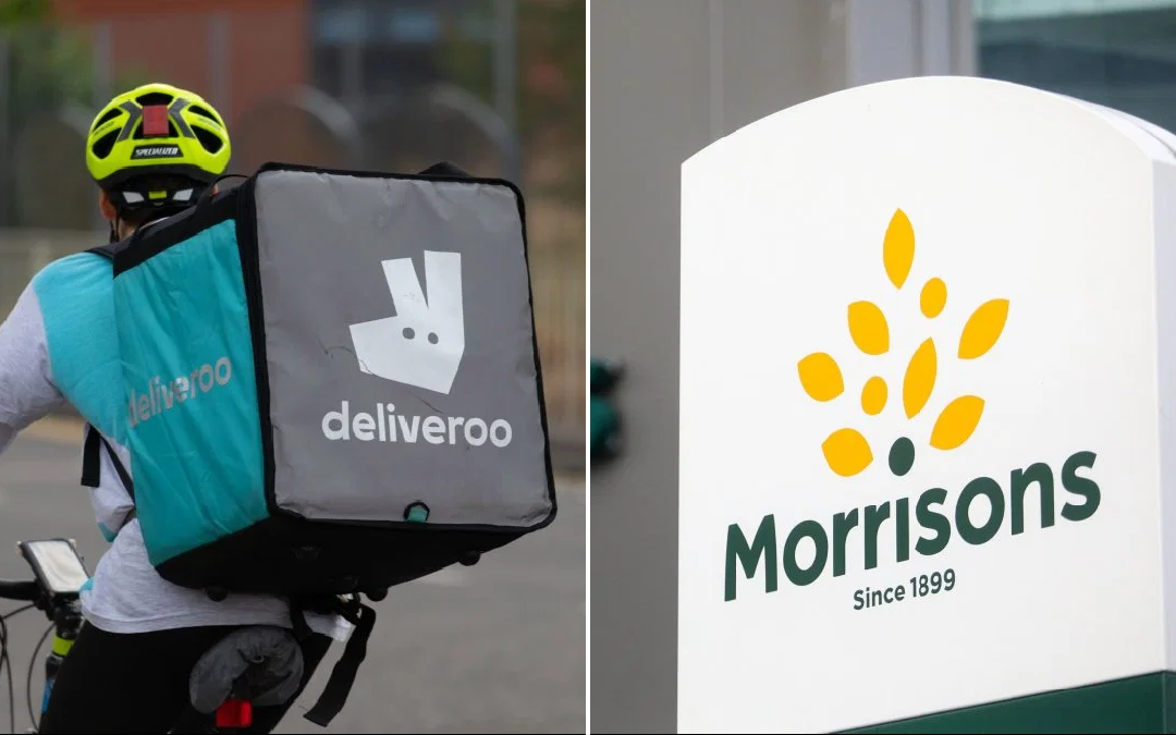 Technology: Morrisons and Deliveroo collaborate to offer essential items delivery via app