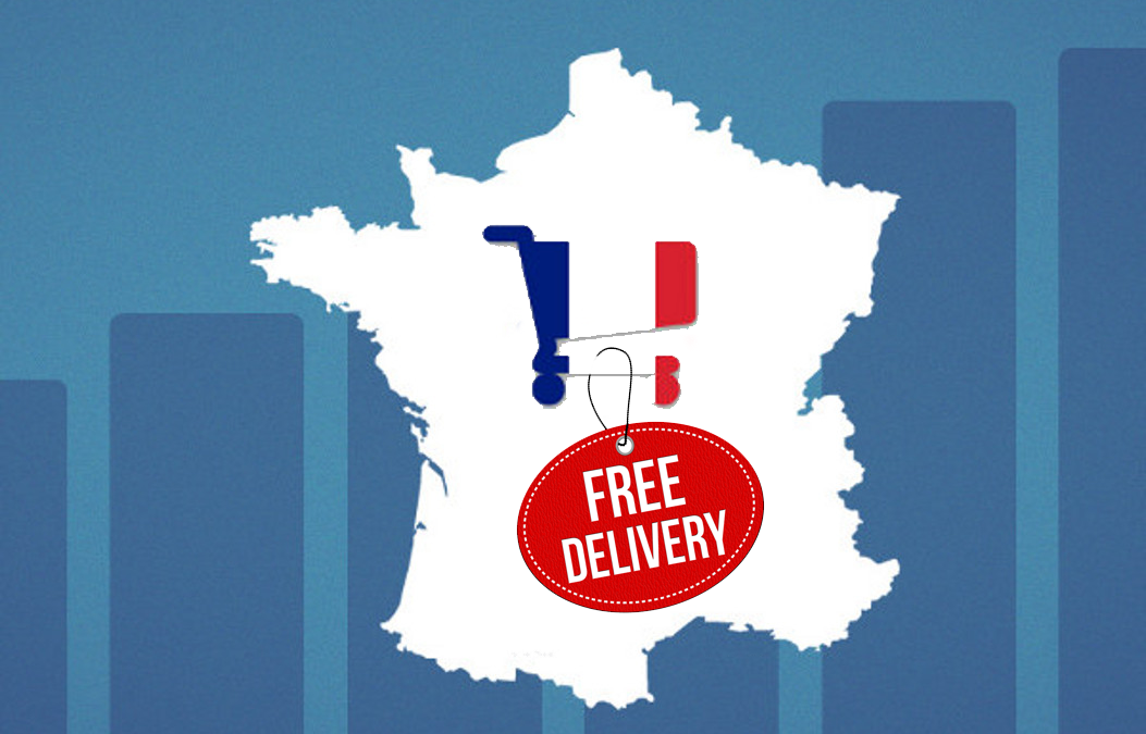 E-commerce: 34% of online French shoppers expect free delivery