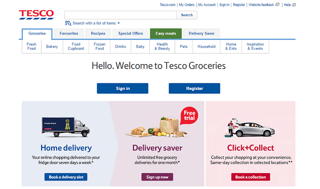 E-commerce: Tesco increases online shopping item limit to 85 items