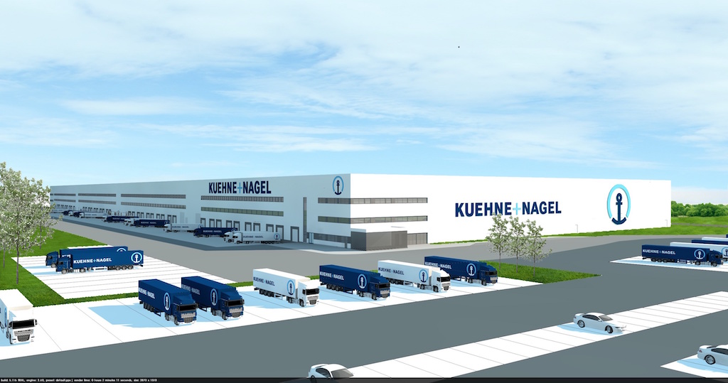Logistics: Swiss logistics company Kuehne & Nagel open distribution centre in Poland