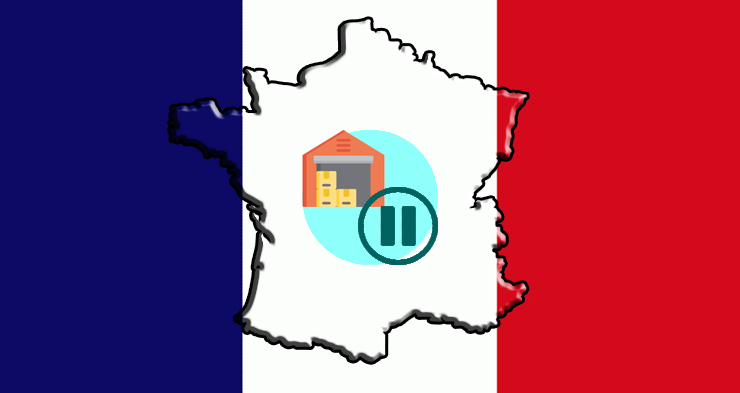 E-commerce: France puts a pause on the building of warehouses used by E-commerce companies