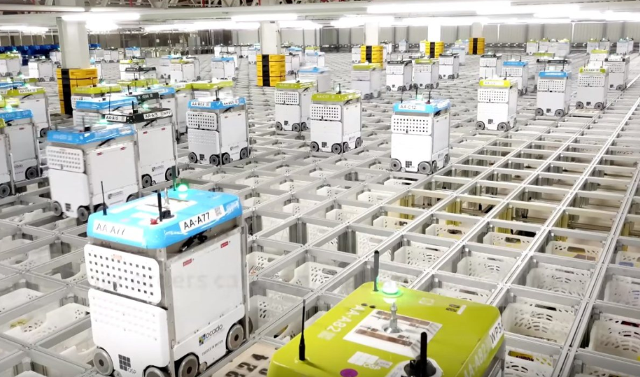 E-commerce: Ocado places greater focus on its robotic operations