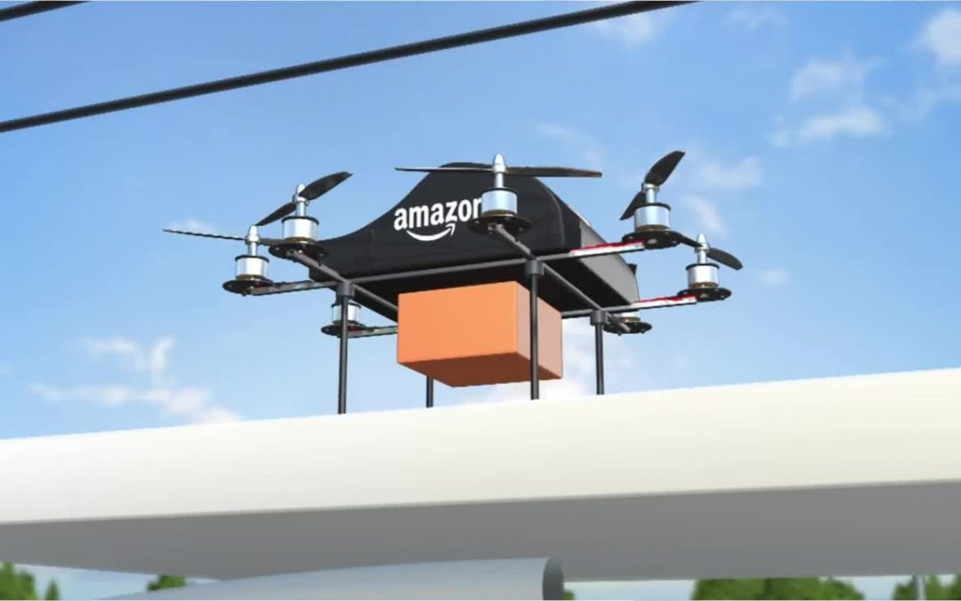 E-commerce: Amazon to trial drones which deliver packages in less than 30 minutes