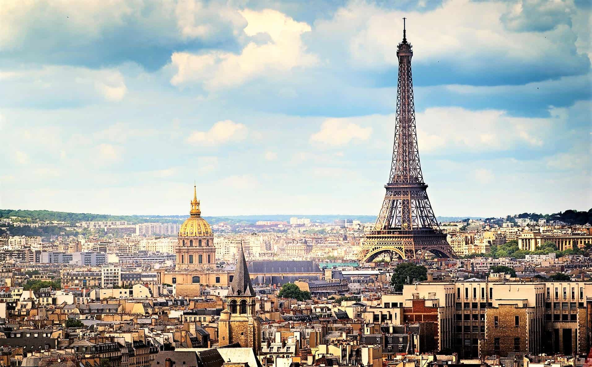 the Eiffel tower in paris, the capital of france where you should register for VAT